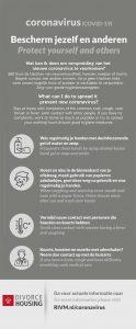 Bescherm je zelf en anderen tegen het Coronavirus (COVID-19)